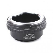 Адаптер Nikon (G) -Sony NEX с функцией управления диафрагмой